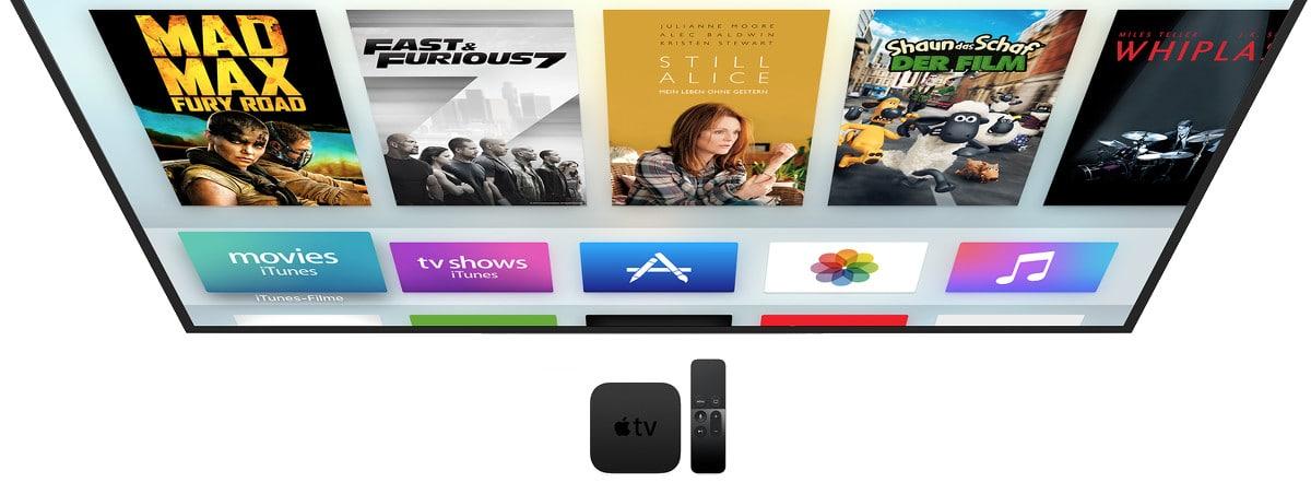 Das neue Apple TV: Ab sofort vorbestellbar