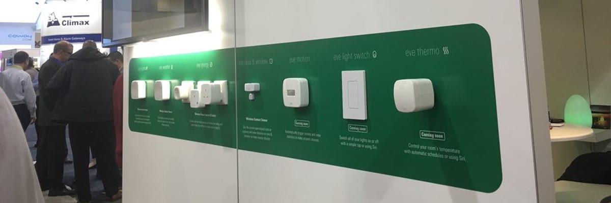 CES 2016: Elgato stellt drei neue Eve Geräte vor