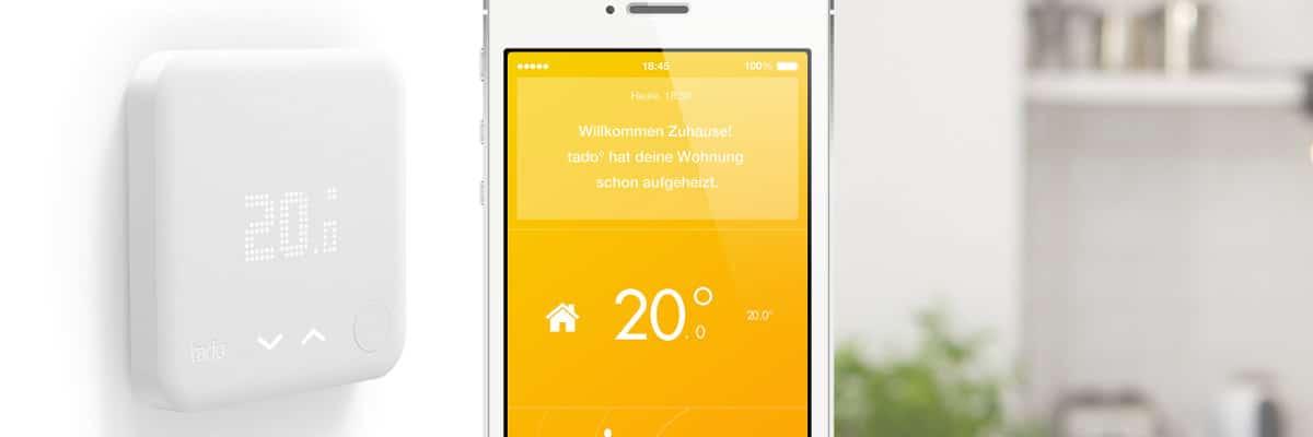 Tado smartes Thermostat: HomeKit Bridge kommt im 2. Quartal