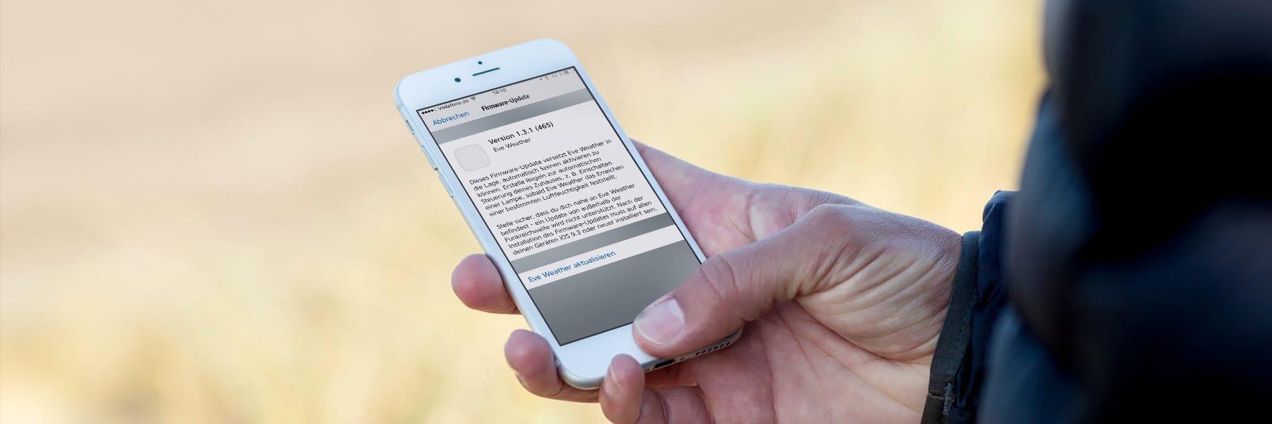 Elgato Eve Geräte erhalten langersehntes Firmware Update