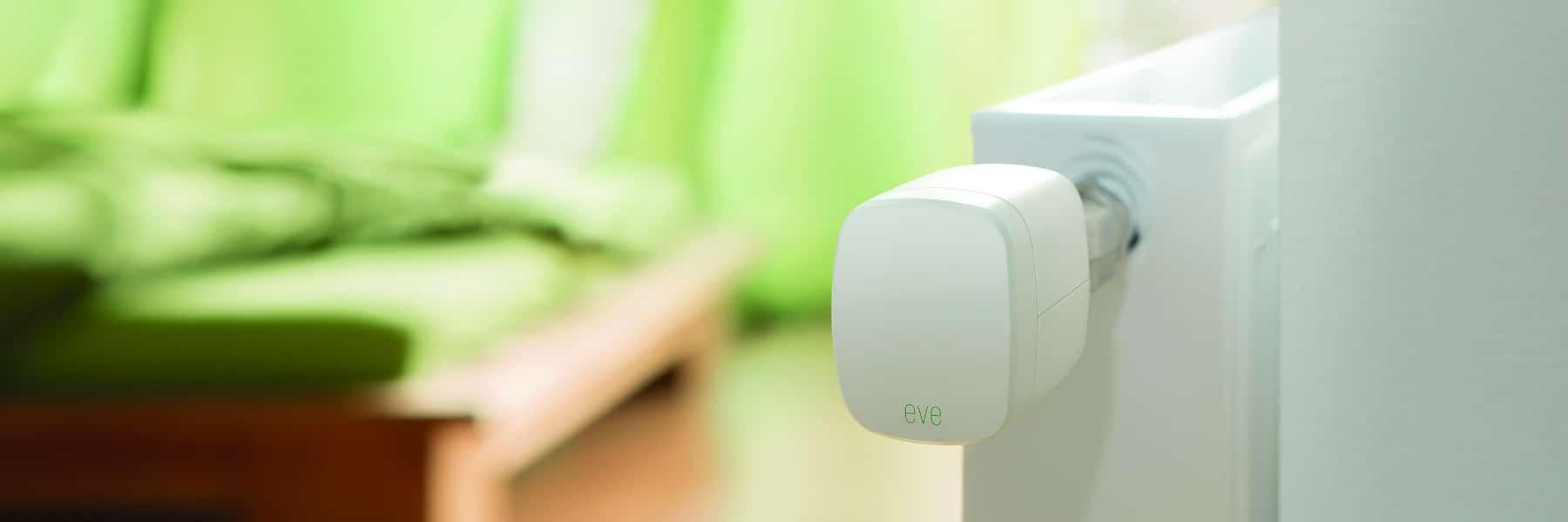 Firmware Update für Heizkörperthermostat Eve Thermo