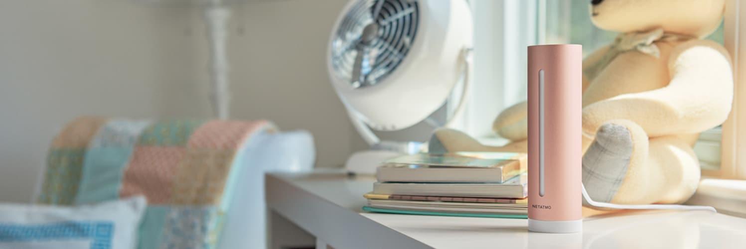 Netatmo Healthy Home Coach: Raumklimaüberwachung mit HomeKit Unterstützung