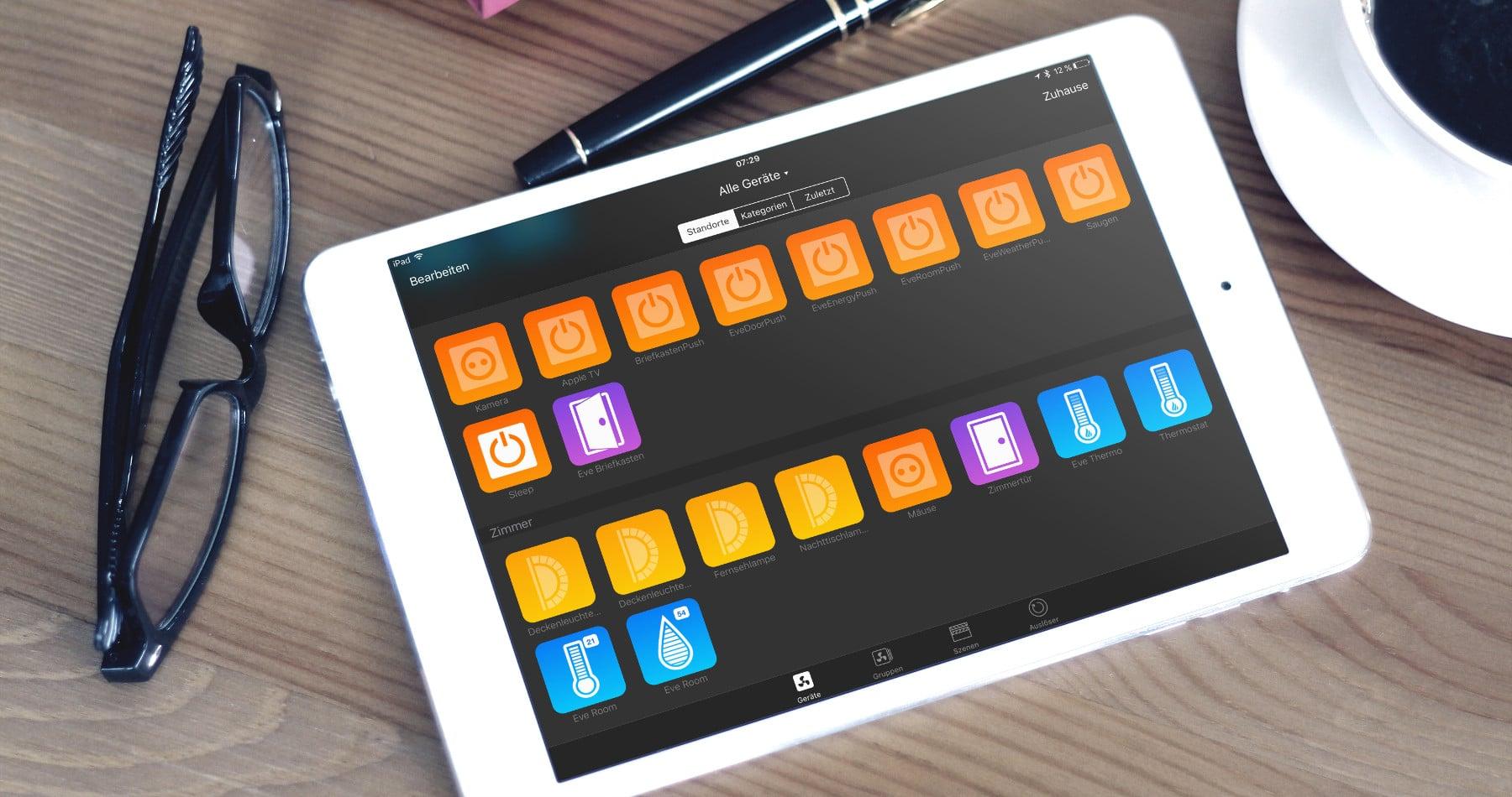 App Updates: Neue Versionen für Devices und myHome