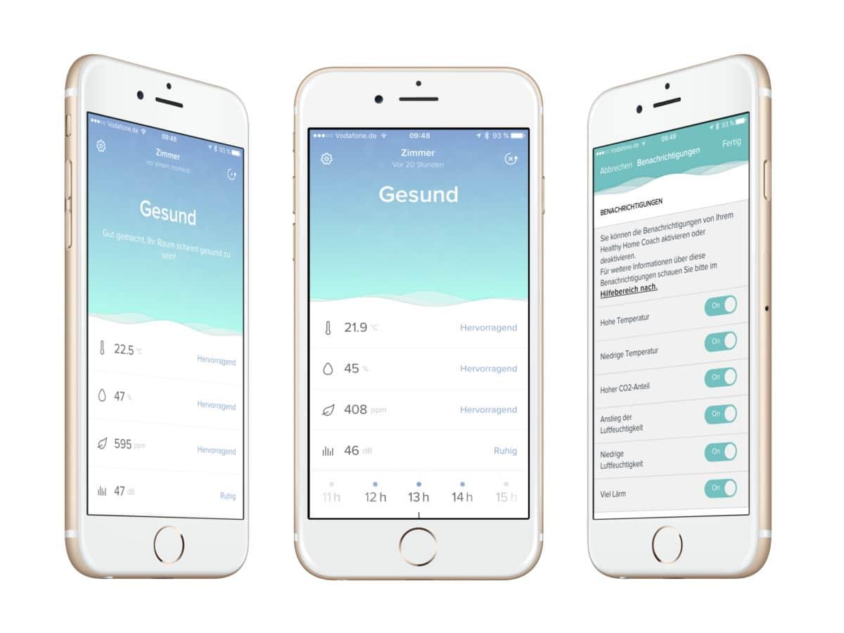 Netatmo Healthy Home Coach App