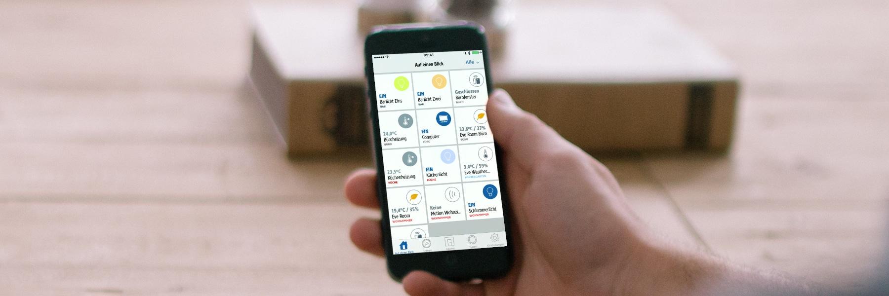 Eve App erstrahlt in frischem Design