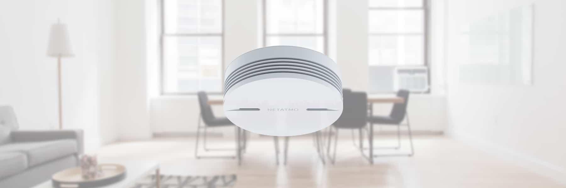 Netatmo stellt HomeKit Rauchmelder auf der CES vor