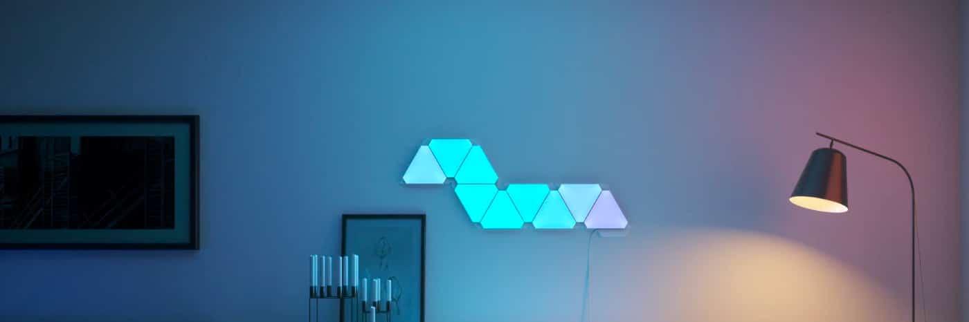 Nanoleaf Aurora: Modulare Beleuchtung für die Wand