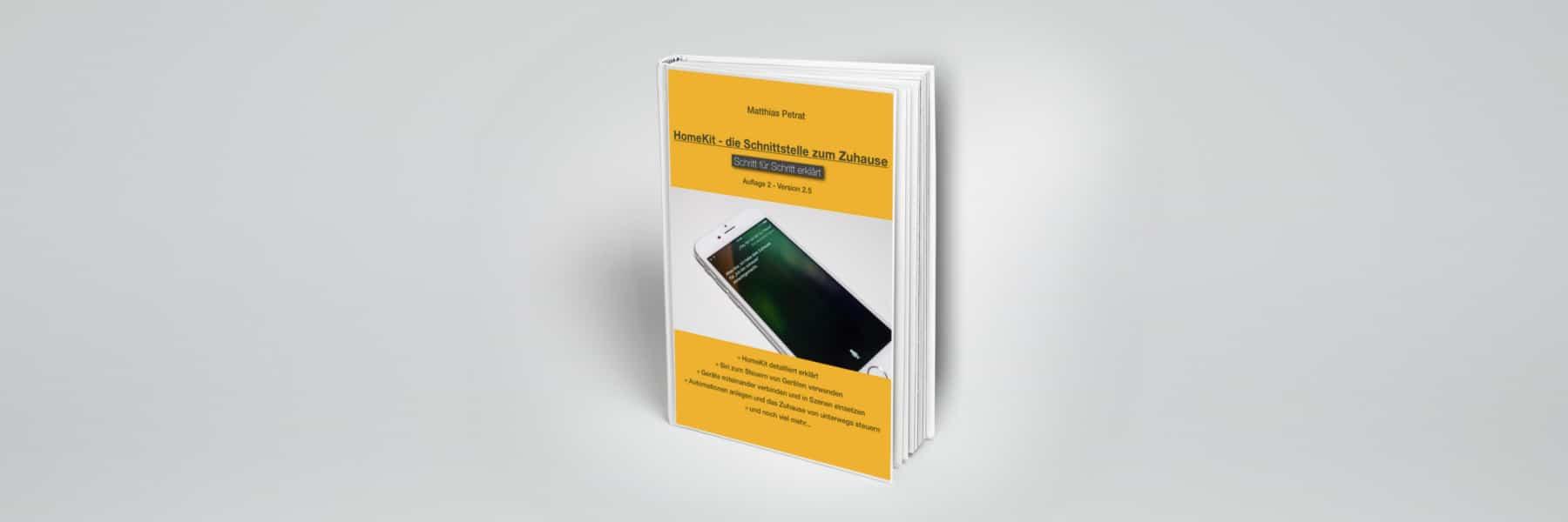 Großes Update für HomeKit Buch veröffentlicht