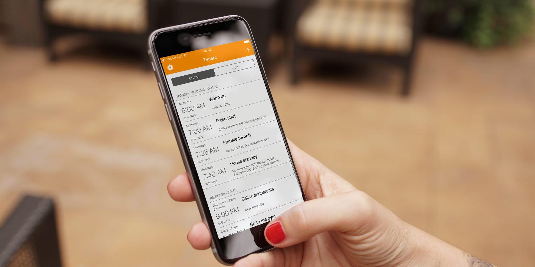HomeKit Zeitpläne: Komfortable Verwaltung mit neuer App