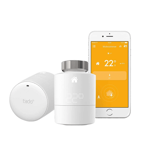 tado° Smartes Heizkörper-Thermostat Starter Kit