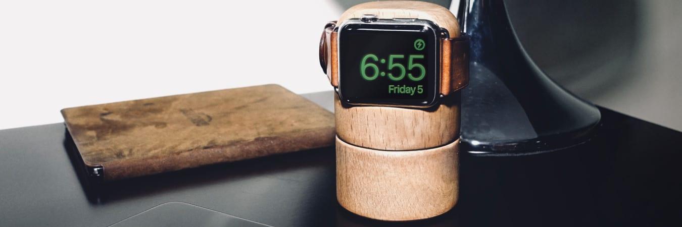 Totm+Travl: Apple Watch Ladestation mit HomeKit Integration