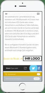 Sponsor des Monats - SmartApfel.de App