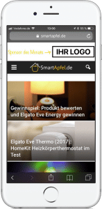 Sponsor des Monats - SmartApfel.de Mobil