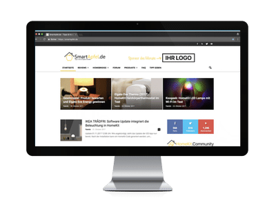 Sponsor des Monats - SmartApfel.de Desktop