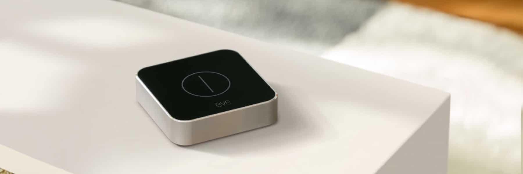 Elgato Eve Button: Stylischer HomeKit Schalter erhältlich