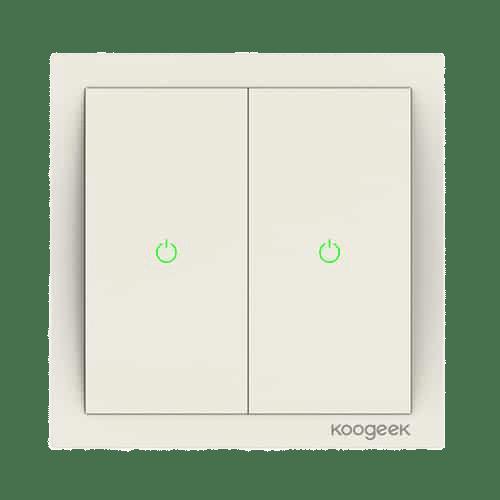 Koogeek Lichtschalter (zweifach)