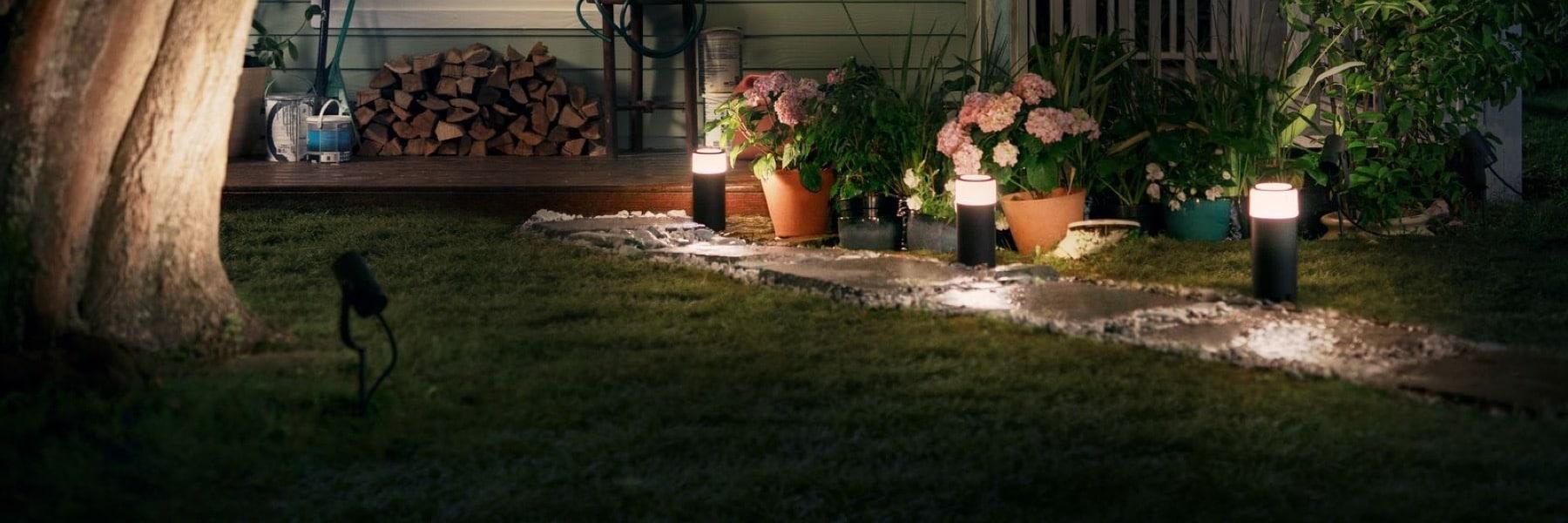 Philips Hue künftig mit Gartenbeleuchtung