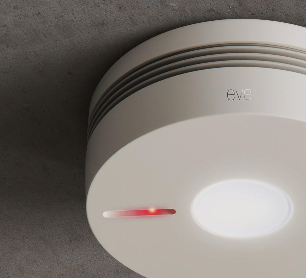 HomeKit Rauchmelder: Elgato Eve Smoke ab sofort lieferbar