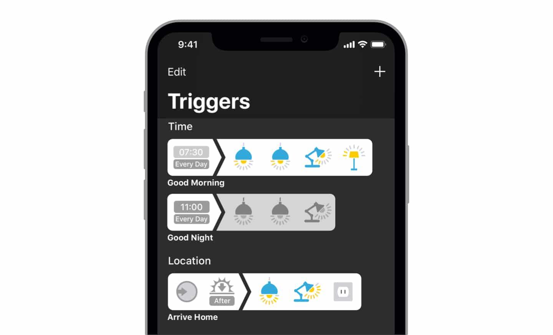 HomeKit App Devices erhält mehr Auslöser