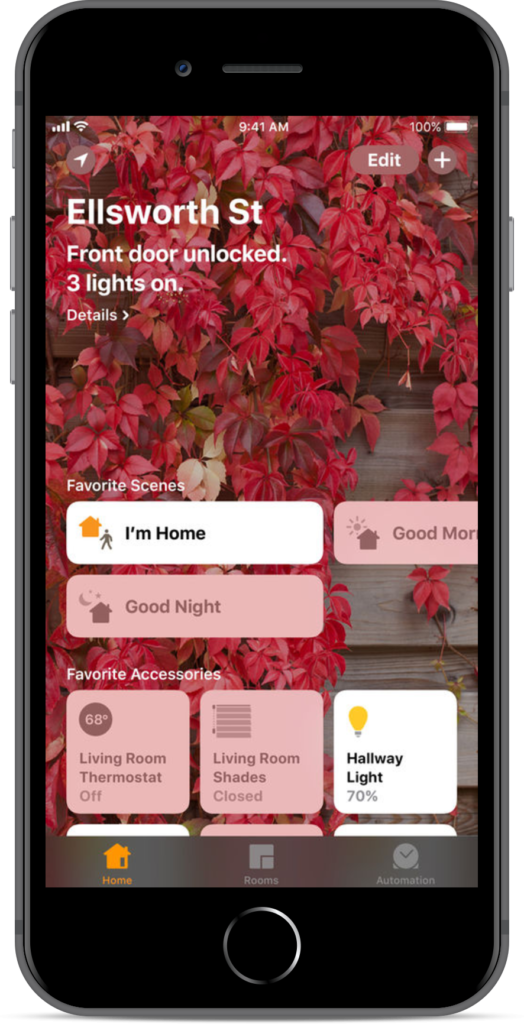 Apple Home App Screenshot