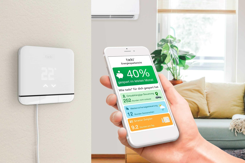 tado° stellt neue Generation der Klimaanlagensteuerung vor