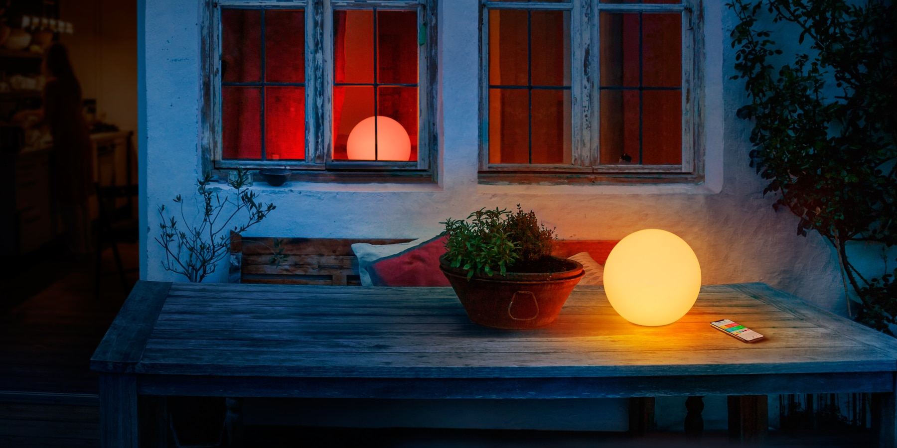 HomeKit Gartenlampe Elgato Eve Flare