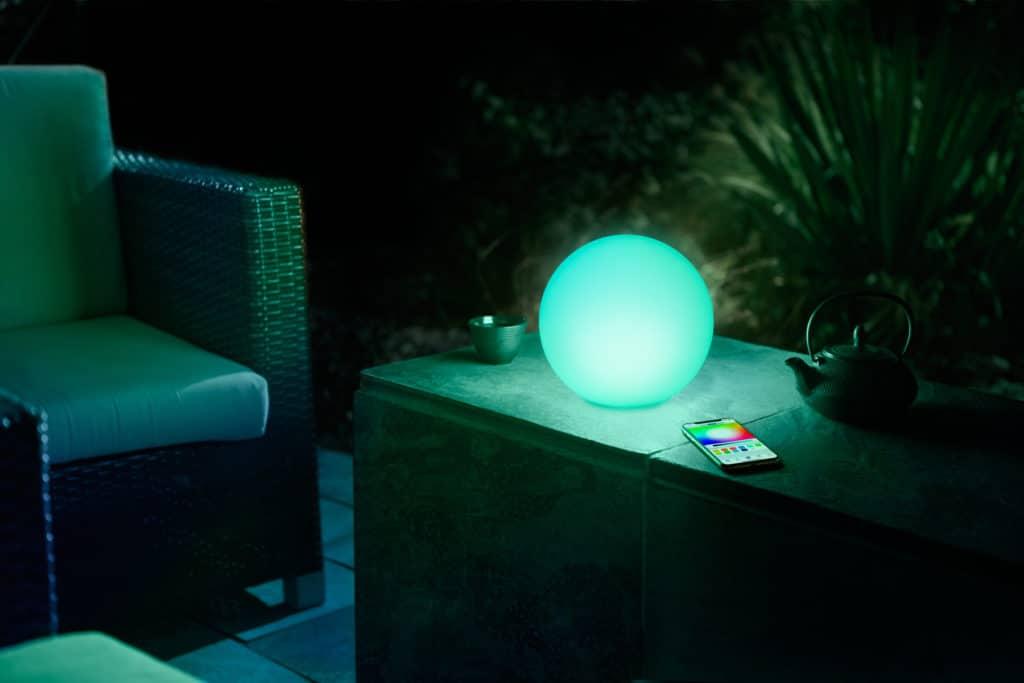 HomeKit-Lampe blinken lassen: Essen ist fertig