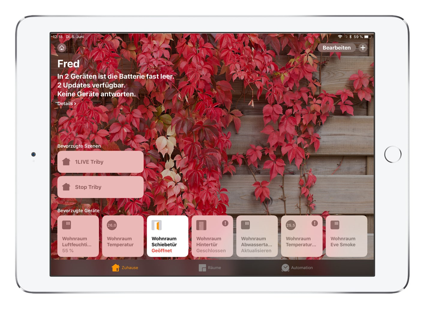 iOS 12 Apple Home HomeKit Änderungen