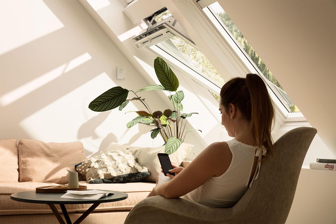Velux Active ermöglicht automatische Steuerung der Fenster