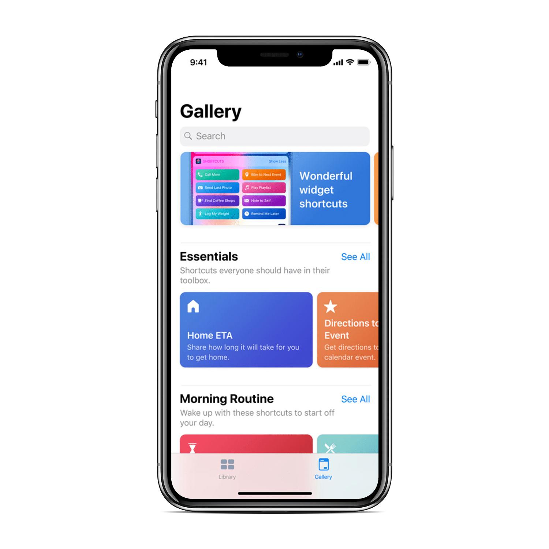Siri Shortcuts Screenshot
