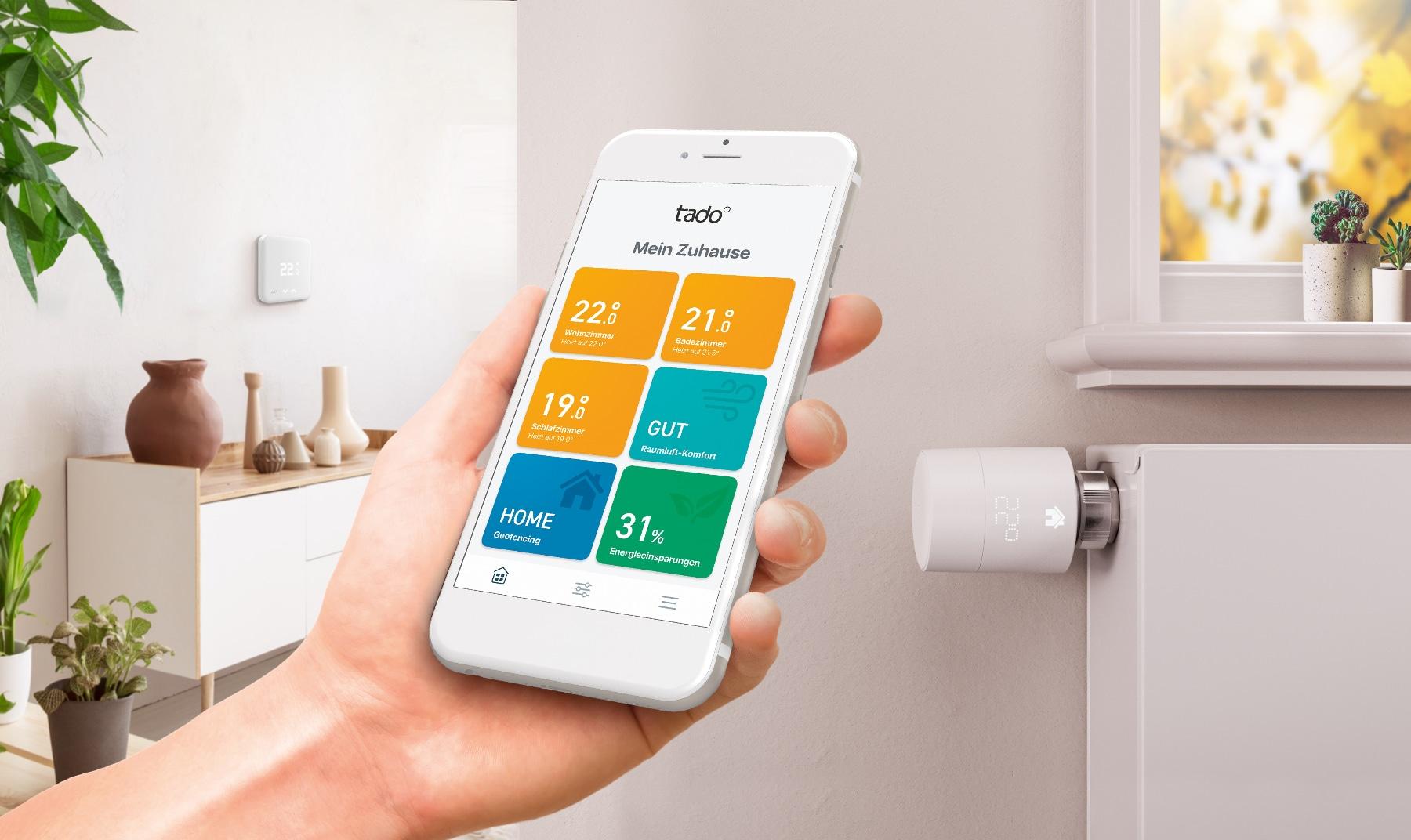 tado° stellt neue Thermostate und App vor