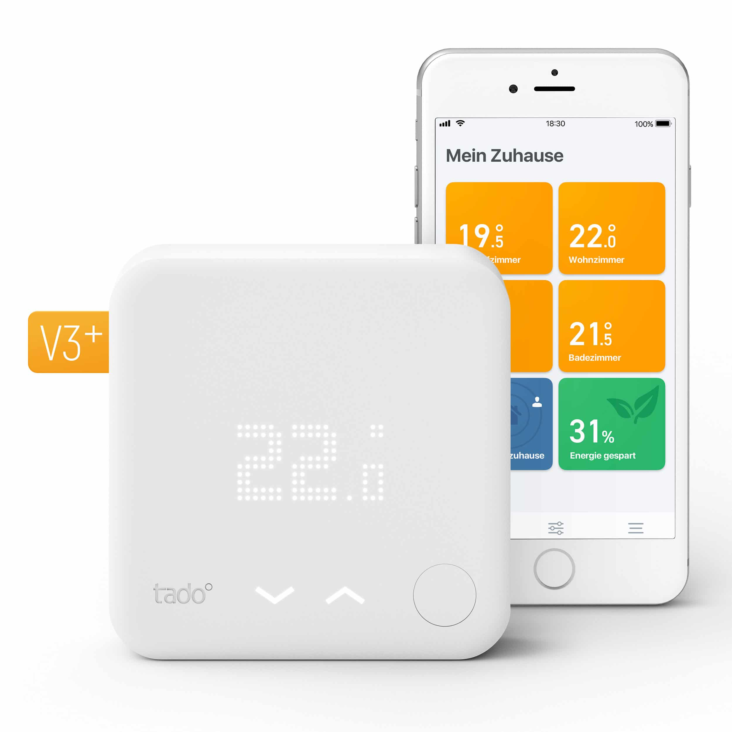 tado° Smartes Thermostat V3+ Starter Kit