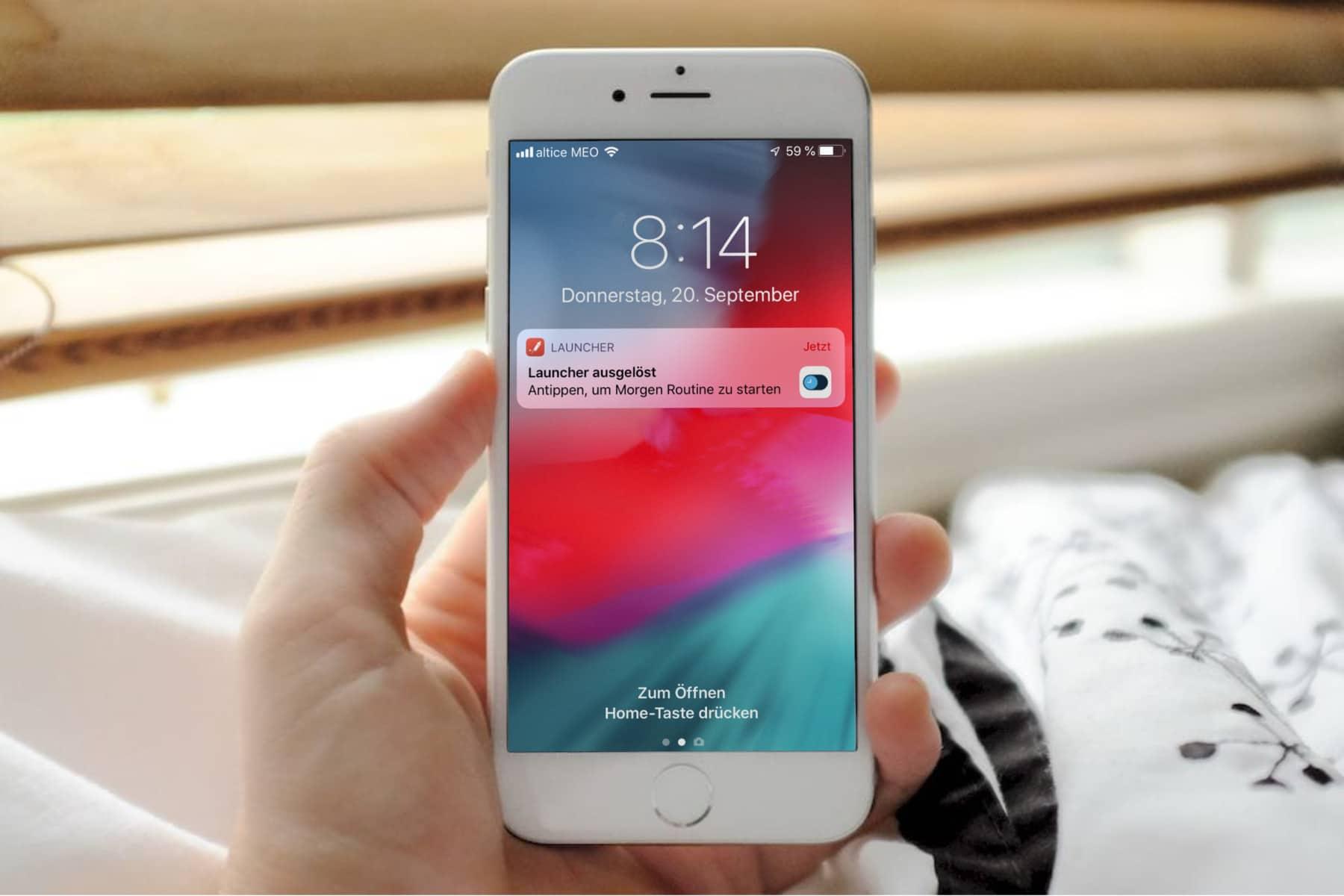 Siri Kurzbefehle zeitbasiert oder ortsbasiert starten