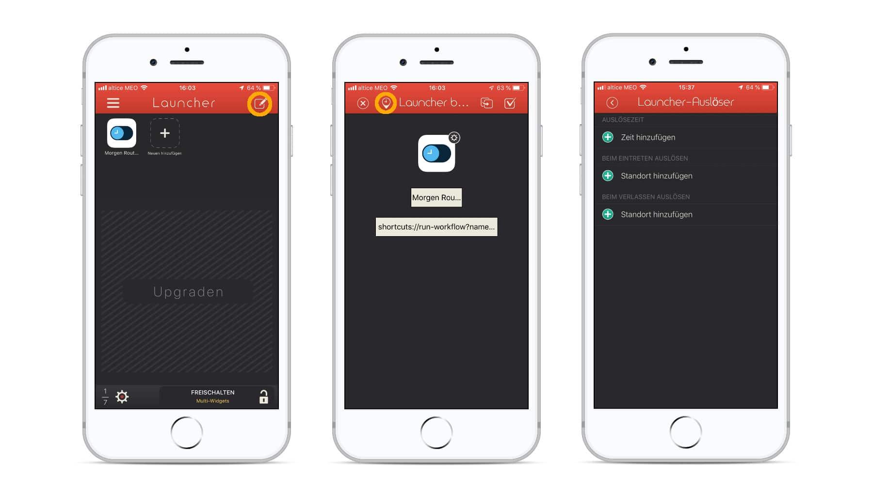 Siri Kurzbefehle automatisiert starten