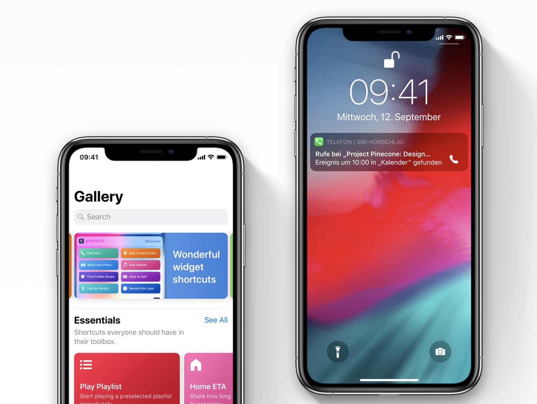 Siri Kurzbefehle: Das kann die neue App von Apple