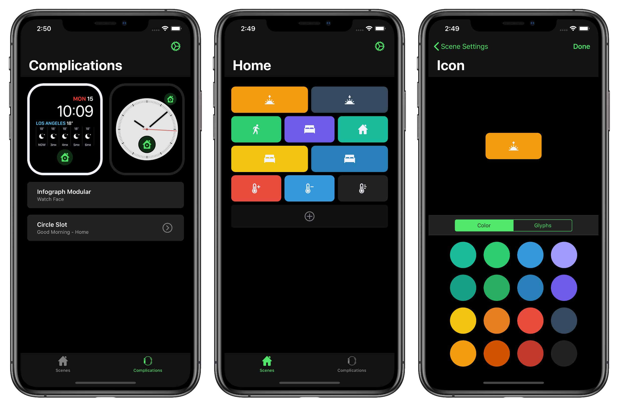 HomeRun HomeKit App iPhone Screenshot