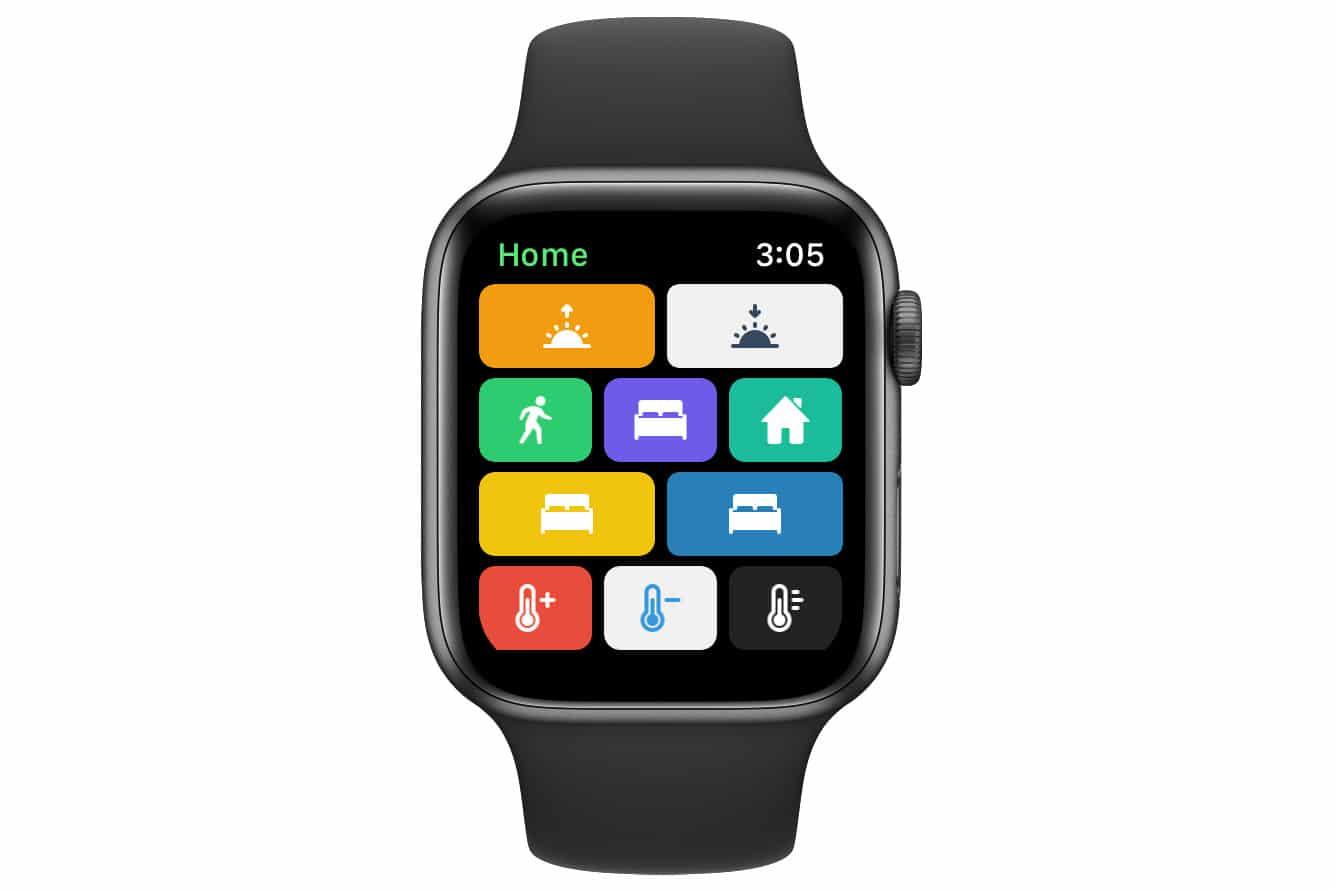 HomeRun HomeKit App Apple Watch Screenshot