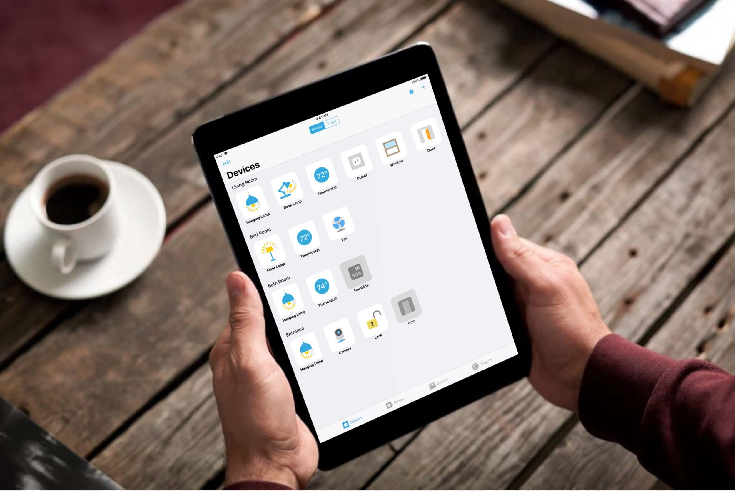 LinkDesk Devices: HomeKit App unterstützt drei neue Gertätetypen und Drag & Drop