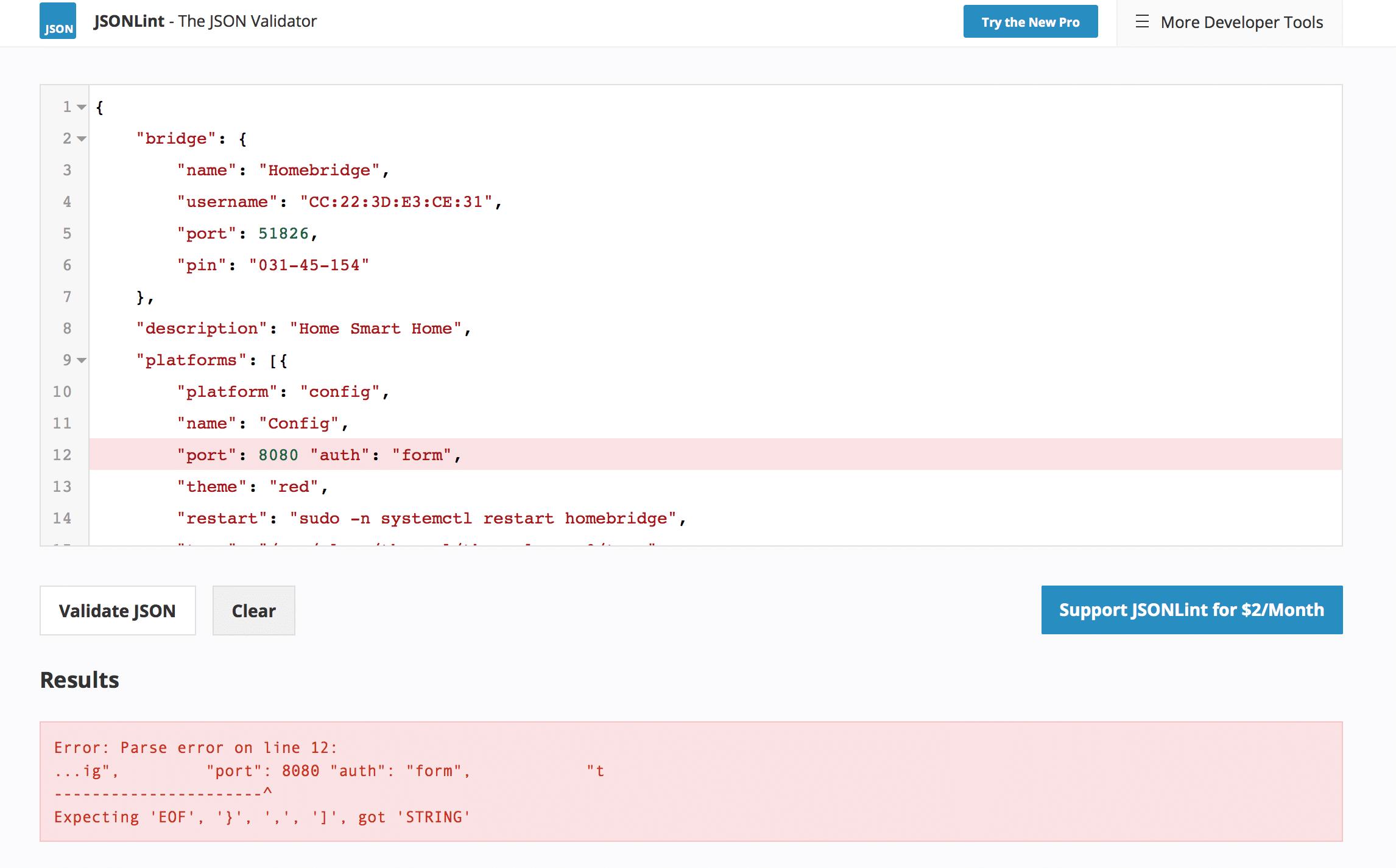 jsonlint.com validate