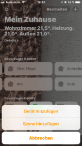 iPhone Gerät hinzufügen