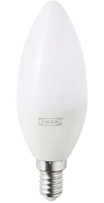 IKEA TRÅDFRI E14 kerzenförmig (Weißspektrum)