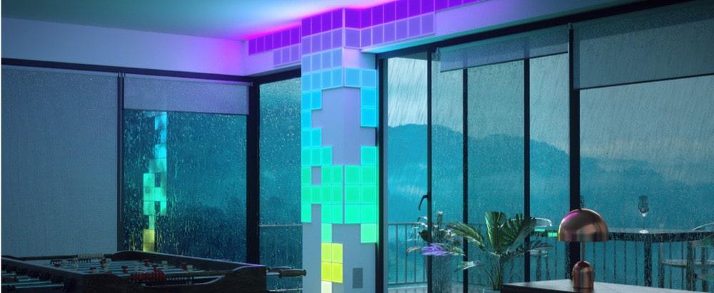 Nanoleaf Canvas: Berührungsempfindliche Akzentbeleuchtung startet in den Markt