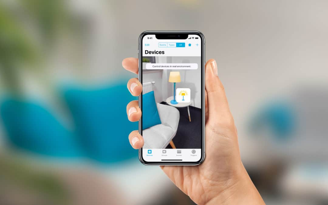 "HomeKit App ""Devices"" integriert Augmented Reality"