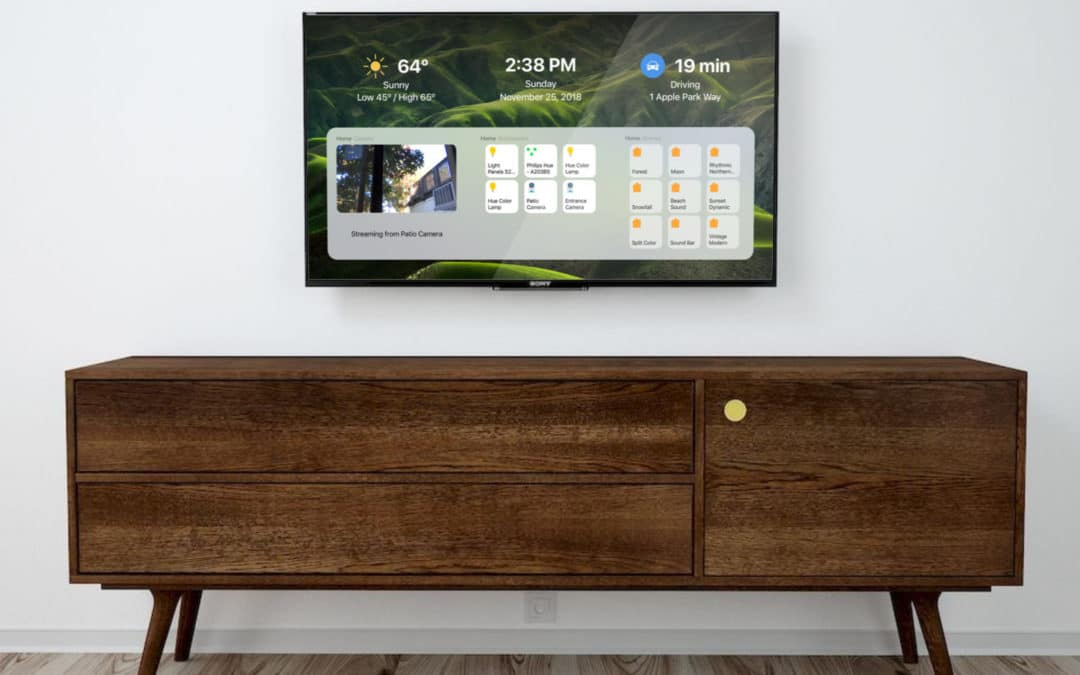 DayView: Apple TV Dashboard integriert HomeKit