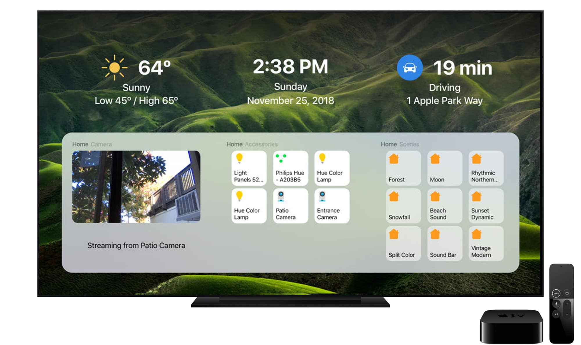 DayView Apple TV App
