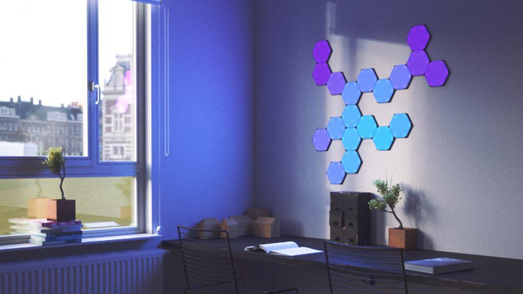 Nanoleaf sechseckige Akzentbeleuchtung