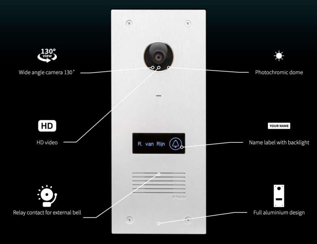 HomeKit Video Türklingel - Robin Proline Doorbell