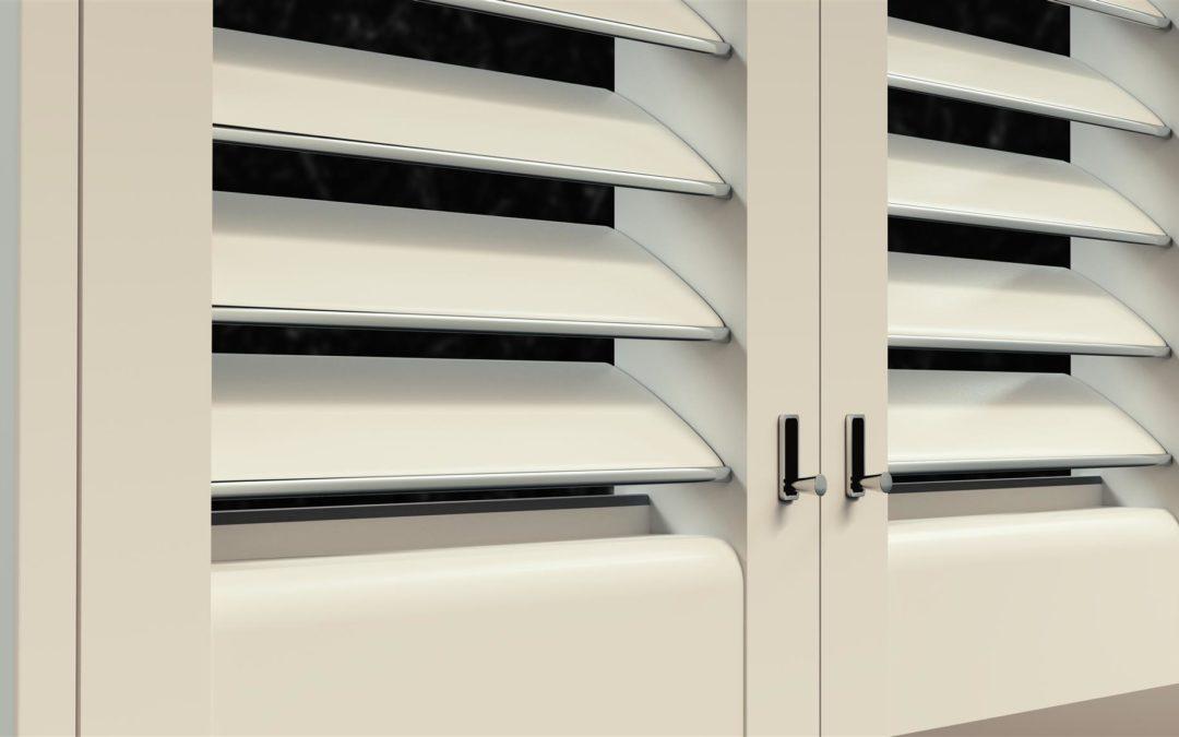 HomeKit Fensterläden mit LED Licht und Kamera