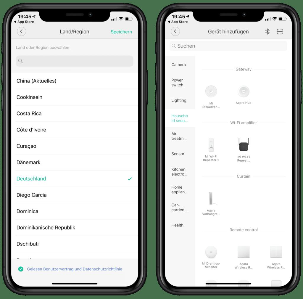 Aqara Hub in Mi Home App hinzufügen