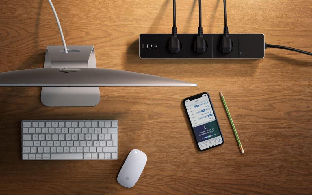 HomeKit Steckdosenleiste Eve Energy Strip ab sofort erhältlich